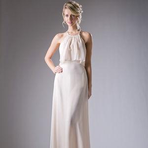 Lace Long Evening A-Line Dress CD13031